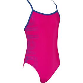 arena Logo Maillot de bain une pièce Fille, rose